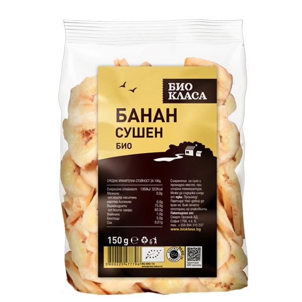 Банан сушен 150 g