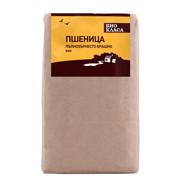 Брашно от пшеница пълнозърнесто 1 kg