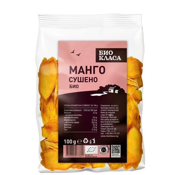 Манго сушено 100 g