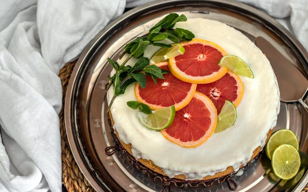 Царевичен кейк с кокосова заливка